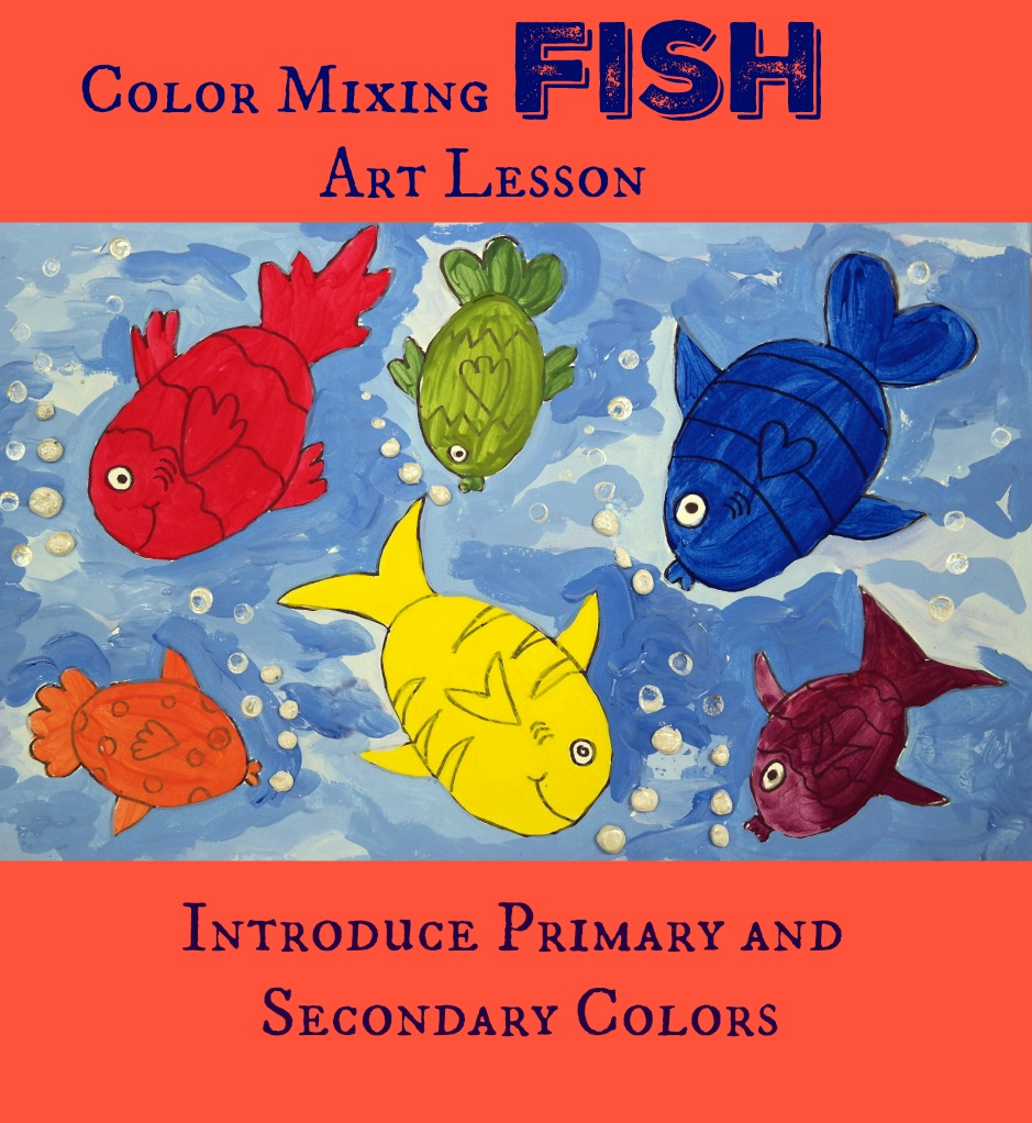 This Color Mixing Lesson Is A Perfect Introduction To Theory For Preschool And Early Elementary School Children It Teaches The Primary Colors