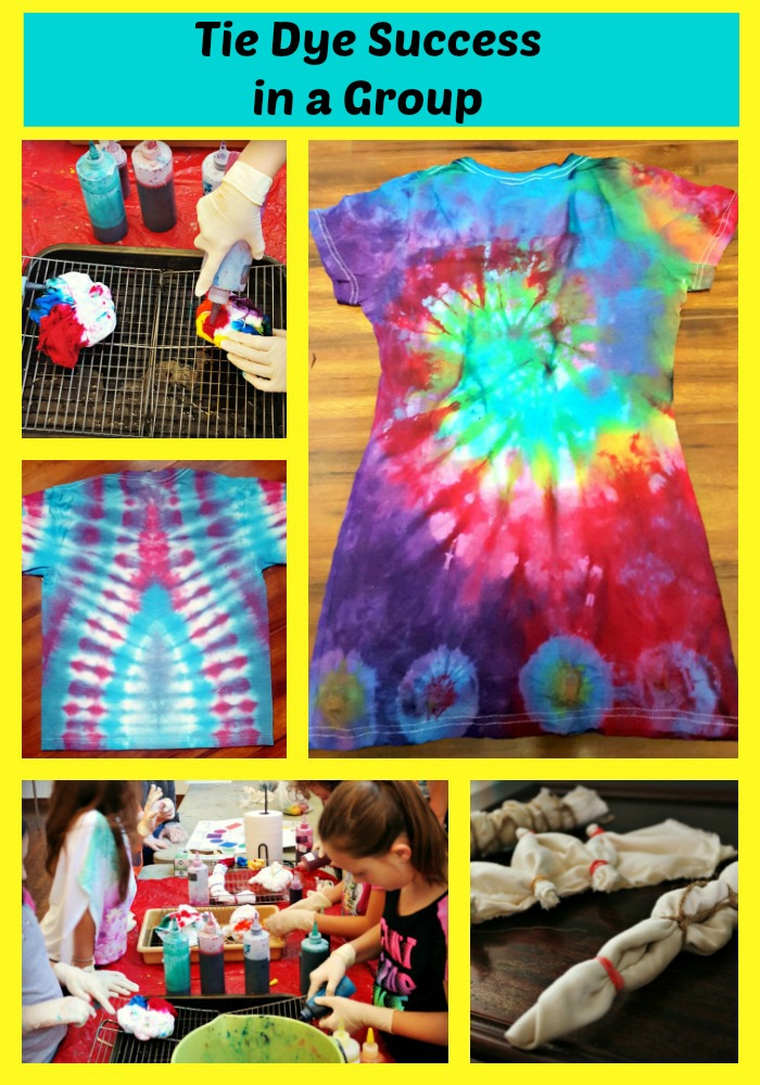 Tie Dye Success In A Group Painted Pomegranate